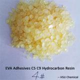 圧力接着剤のためのC5c9によって重合される水素化された樹脂