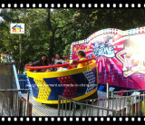Coche de los cabritos del paseo 2017 del parque de atracciones con 8 asientos