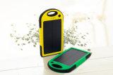 太陽6000mAh電話充電器旅行電池バンク