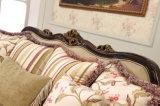 Sofà di legno americano dello strato antico del salone con la Tabella classica