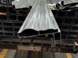 6063 perfiles de aluminio de Extusion del marco de la puerta deslizante de la venta de la capa caliente del polvo