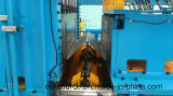 波形のひれの生産ラインを作る変圧器