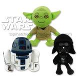 Jouets de peluche de dessin animé de Star Wars de 8 pouces pour le cadeau promotionnel