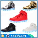تصميم كلاسيكيّة [أوسب] يحمّل إرتفاع قطة [لد] أحذية لأنّ رجال
