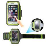 Caja del brazalete del nuevo ultra delgado transpirable reflectante Deporte para el teléfono móvil