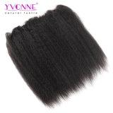 360 Stirnbein mit Bündeln, brasilianisches verworrenes gerade 360 Spitze-Jungfrau-Haar mit Bündeln, hochwertige Yvonne-Haarpflegemittel