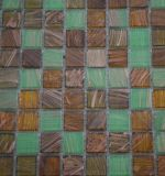 Tejido de cristal de la decoración del mosaico del arte del cuerpo completo del derretimiento caliente de la manera