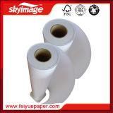 papel de transferência seco rápido do Sublimation da economia da largura de 90GSM 610mm para a matéria têxtil do poliéster