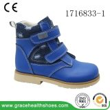 Grace Health Shoes Bottes orthopédiques Kid Boot Blue Orthopaedic Shoes