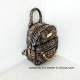 Venda Por Atacado senhoras senhoras serpente mochila de couro mochila (NMDK-042801)