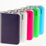 Batería colorida de la potencia externa del cargador 8400mAh del teléfono móvil de la impresión de la insignia