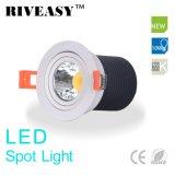 luz ligera del café de Ce&RoHS SMD LED LED de la lámpara de Downlight del proyector de 10W LED