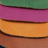 Le cuir synthétique de PVC de l'unité centrale 2017 gravé en relief le plus neuf pour les chaussures de sac à main de sac (CF5789)