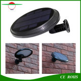 Luz solar flexível Rotatable ao ar livre solar da parede da iluminação 56LED do projeto novo com sensor de PIR e modalidade não ofuscante