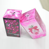 Colorer le cadre de papier cosmétique pour le parfum