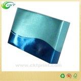 Caja de regalo cosmética metálica de Glod con la laminación de la película (CKT- CB-153)