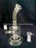 a-89 pipe en verre, narguilé de fumage Shisha de conduite d'eau