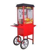 Carro comercial de la máquina de las palomitas de Et-Pop6c en rojo
