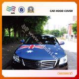 Bandierina su ordinazione del coperchio del cappuccio dell'automobile della bandierina del Porto Rico del tessuto ecologico