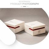 優雅なクラムシェルの長方形の木のヘルスケアの食糧箱