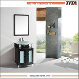 Gabinete de banheiro T9148-24e da parte superior do vidro Tempered