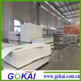 panneau de PVC 4X8, panneau de mousse de PVC Celuka du blanc 3mm avec 0.5 densité