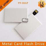 Movimentação relativa à promoção feita sob encomenda do flash do USB do cartão de crédito do metal (YT-3101-03)