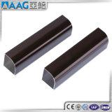 Tubo rectangular/tubo del cuadrado de aluminio de la protuberancia