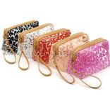 工場ジッパーロックのヒョウプリント構成袋袋の多機能の過透性の韓国の装飾的な袋
