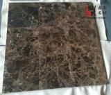 Mattonelle di marmo scure di pavimentazione di pietra naturali della Spagna Emperador