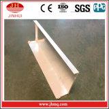 Moldeado de J con el revestimiento de aluminio de la pared de la pierna extendida