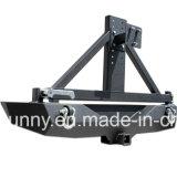 Qualité pour le pare-chocs arrière en acier de Wrangler de jeep avec le transporteur de pneu pour des pièces d'auto