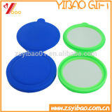 Factory Hot Sell Rotating Silicone Miroirs de poche Miroir cosmétique