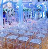 투명한 대중음식점을%s 폴리탄산염 Chiavari 의자