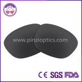 Lentilles de lunettes de soleil polarisées par 1.2mm de Tac pour le C-Fil