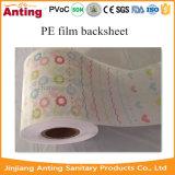 Breathable сырье Backsheet пленки PE для пеленки