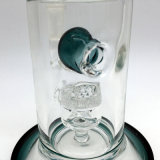 Tubos de cristal pesados gruesos coloreados de cristal de cristal de Perc del peine de la miel de los tubos que fuman de los tubos de agua de Toro mini