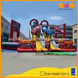 Trasparenza gonfiabile gonfiabile della vettura da corsa della città di divertimento di Aoqi da vendere (AQ1364)