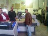 Máquina do Woodworking do CNC com linha central 3D giratória