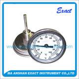 Acero inoxidable de alta calidad bimetálico Termómetro Industrial Dial
