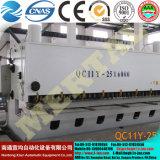 자동 깎는 (k) 기계 CNC 유압 절단기 QC12y 그네 광속 시리즈 4X4000