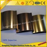 Perfiles de aluminio modificados para requisitos particulares de la protuberancia con el tratamiento de pulido