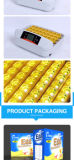 Nieuwste Hete Verkoop Volledige Automatische 32 Eggsincubator van Hhd met Goedgekeurd Ce van het LEIDENE Licht Meetapparaat van het Ei