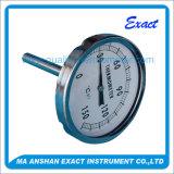 高品質のステンレス鋼の産業バイメタルのダイヤルの温度計