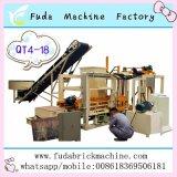 Bloco concreto automático cheio da cavidade do Flyash que faz a máquina de China