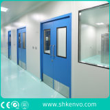Portas de sala limpa de aço inoxidável dupla para alimentos ou indústrias farmacêuticas