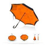 반전 차 우산