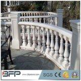 Granit clôturant le système de balustrade de balustrade de panneaux pour la terrasse