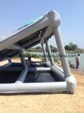 Quadro de avisos de flutuação inflável feito sob encomenda na água