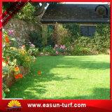 Césped artificial del césped de la hierba del jardín para el césped de la decoración del jardín
